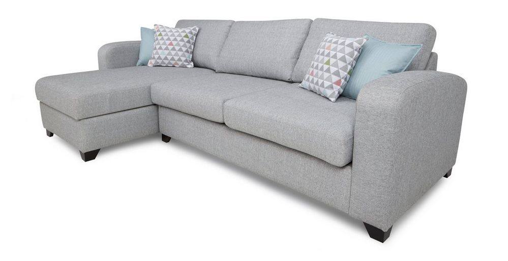 Superb Lidia Left Hand Facing Chaise End 3 Seater Supreme Sofa Bed Pabps2019 Chair Design Images Pabps2019Com