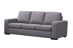 R2R THREE SEATER SOFA PLAIN DESIGN UPHOLSTERY  IN FABRIC